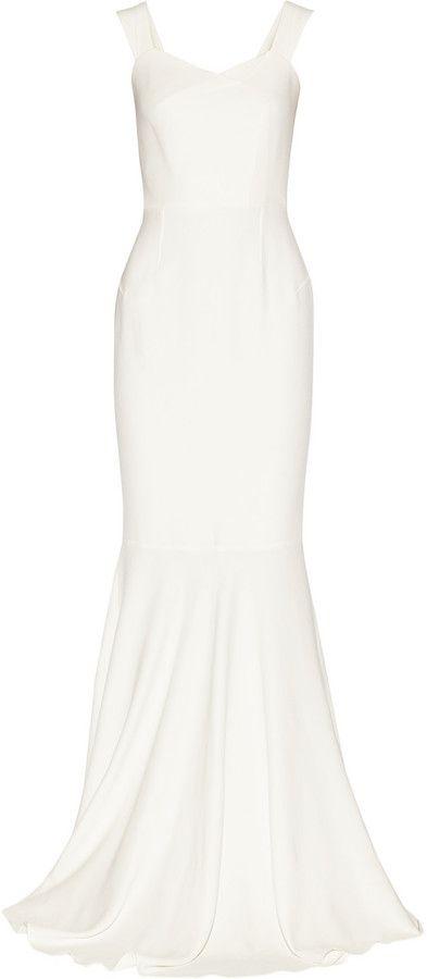 Roland Mouret Orpheus stretch-crepe gown