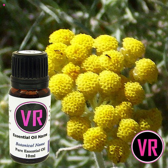 Helichrysum   Helichrysum italicum     Botanical Name: Helichrysum italicum   Plant Part: Flowers   Extraction Method: Steam Distilled     Size 10ml  (0.338 ounce US, Liquid)    Guaranteed 100% Pure and unadulterated     Every bottle also contains the following information;  Botanical Name (Latin)