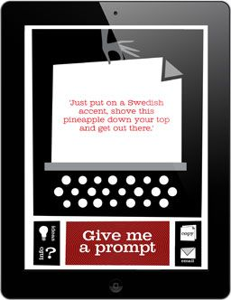 Hilarious Prompt!! Love it! --Writing Prompts Generator | Flash Fiction | Short Stories | Adam Maxwell's Fiction Lounge