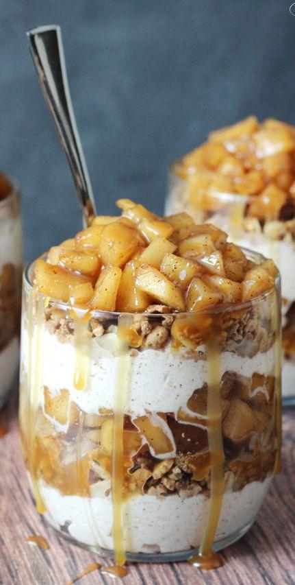 Caramel Apple Trifles