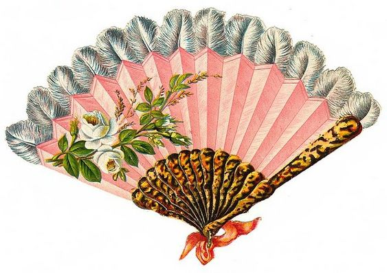 Antique Passion-Láminas Antiguas,Vintage,Retro...y manualidades varias: Abanicos