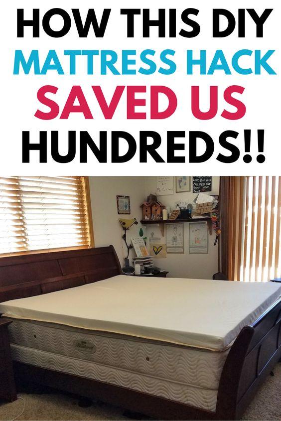This Lumpy Mattress Hack Saved Us Hundreds Diy Mattress Pillow Top Mattress Pillow Top Mattress Pad