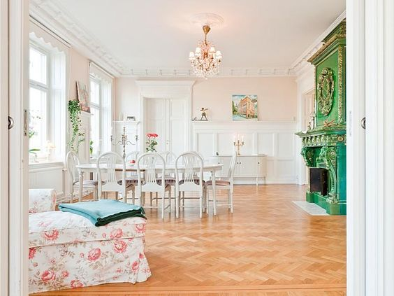 Home-Styling: Magnificent Houses - Casas Magníficas - Light Romantic