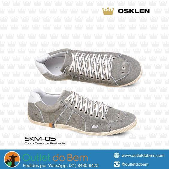 Diversos modelos de sapatênis Osklen de R$39700 por R$18000!  Consulte os modelos e tamanhos disponíveis.  Garantia de 30 dias após a entrega.  WhatsApp: (31) 8480-8425 by outletdobem