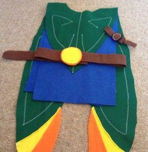 Hand Made Felt Costume Like Tree Fu Tom! For Boys & Girls | eBay. £18