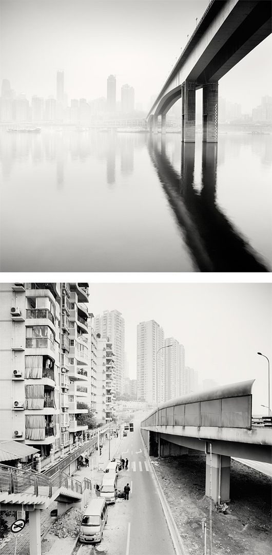 City of Fog: Photo Series by Martin Stavars: Photographers Breakthrough, Black White Shades, Inspiration, Art Design, 03 Photography, Grid, A2 Photography