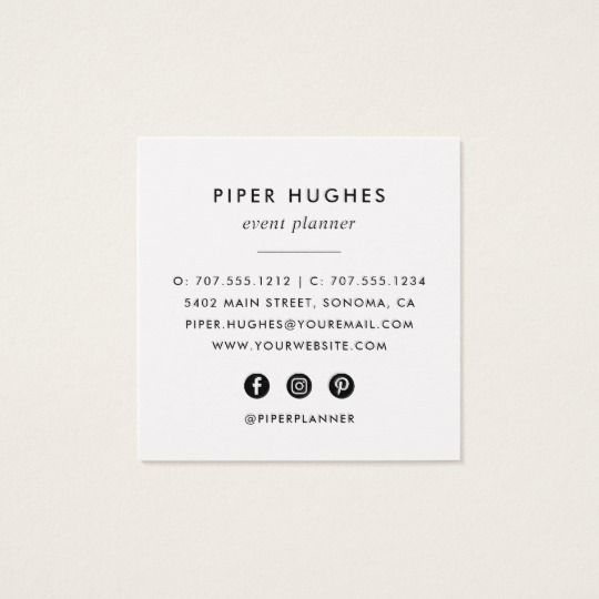 Modern Minimalist Square Business Cards Black Printing Business Cards Black Business Card Square Business Cards