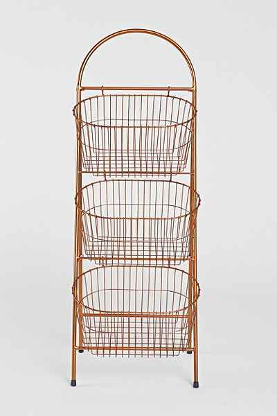 Copper Ladder Storage Basket - Urban Outfitters: