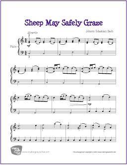 piano sheet music free printable