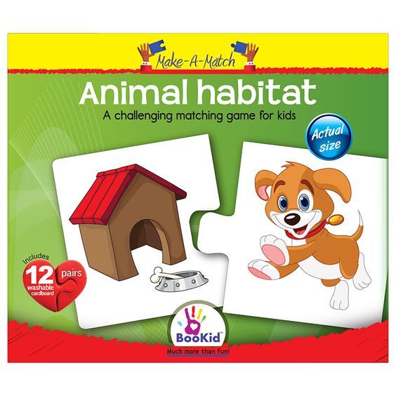 Animal match puzzles and more animal habitats habitats puzzles animals