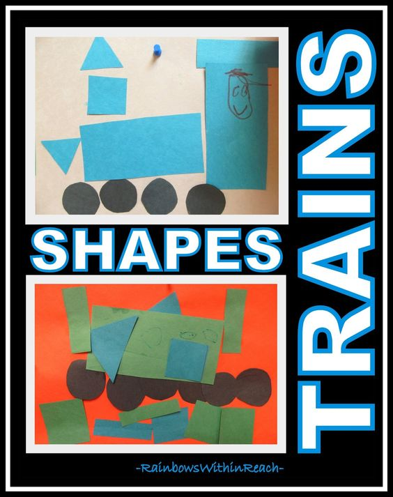 Preschool Trains and Shape Recognition via RainbowsWithinReach (literacy)