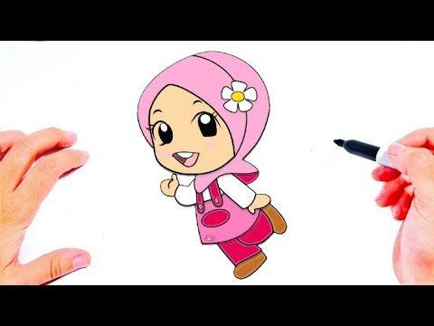رسم سهل رسم فتاة محجبة للمبتدئين كيف ترسم فتاة محجبة رسومات سهله وجميله Youtube Vault Boy Fictional Characters Character