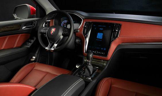 """#Motor #coches La nueva camioneta inteligente RX5 de SAIC y Alibaba (el """"Amazon"""" de China)"""