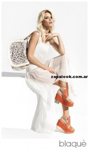 sandalias naranja Blaque primavera verano 2014: Blaque Primavera, Blaque Bags, Summer Looks, Summer 2014, Naranja Blaque, Fashion 2014, Campaña Summer, Shoes Boutique, Summer 2014