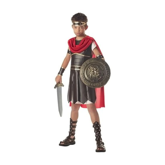 A great little Hercules costume for your little warrior. Tunic, body armor with…