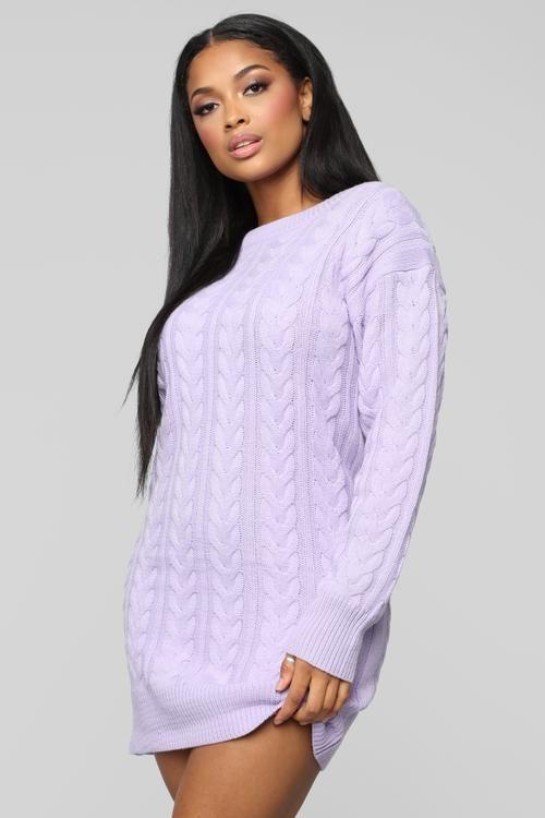 24++ Purple sweater dress ideas in 2021
