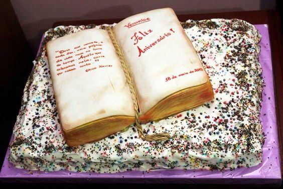 Livro de bolo