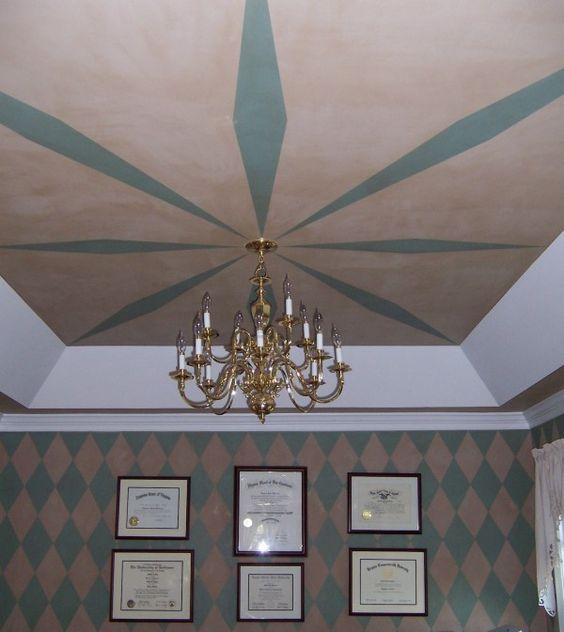 DIY Painted Ceilings