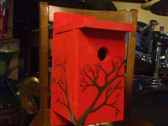 Eastern Bluebird box... I love birds <3