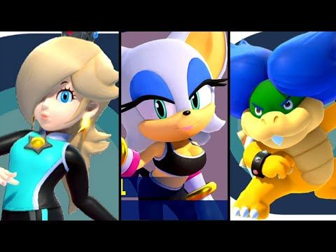 Mario And Sonic At The Olympic Games Tokyo 2020 All Guest Characters Switch Youtube Videojuegos