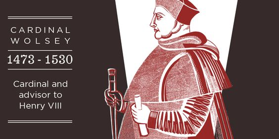 The courtiers and politians of Hampton Court Palace - Wolsey
