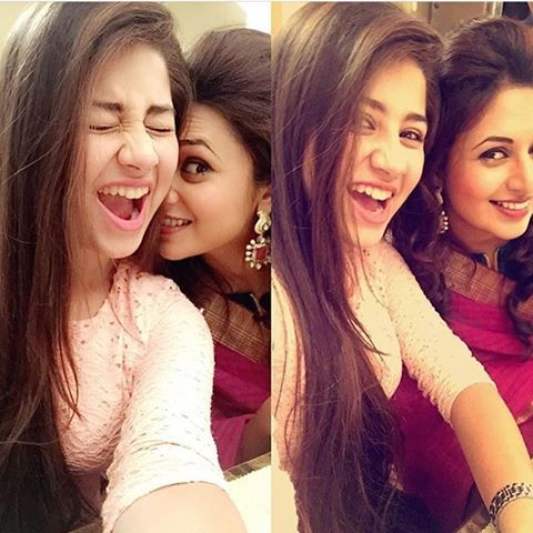 OMDSSSS!  these two are literally goals ✨ #YehHaiMohabbatein @divyankatripathi @aditi_bhatia4