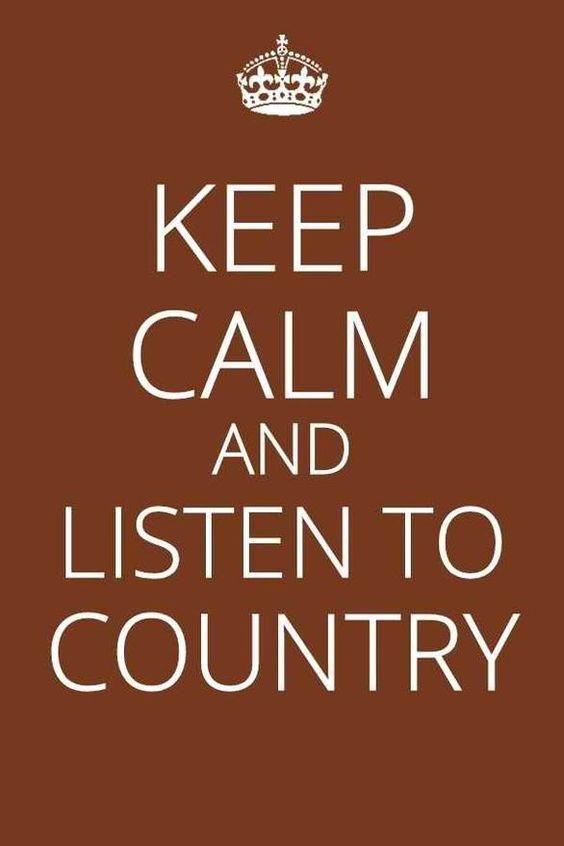 Country music <3  A little Dierks Bentley, a little Lady Antebellum, a little  Keith Urban, a little Kenny Chesney...