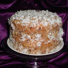 Butter Pecan Coconut Bundt Cake