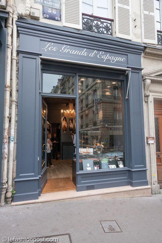 Les Grands d'Espagne: l'art culinaire espagnol - Achetez le jambon authentique -- 47 Passage des Panoramas, Paris