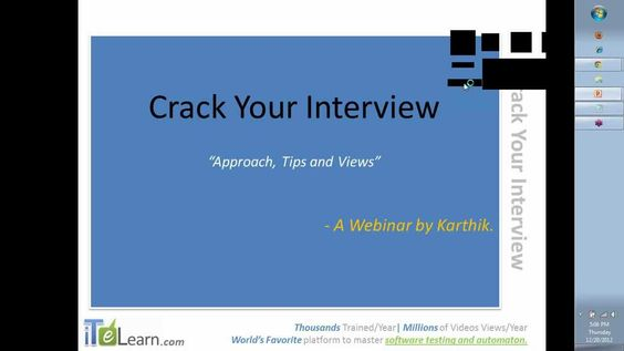 ITeLearn Webservices Testing SoapUI Testing Free Webinar and - qtp resume