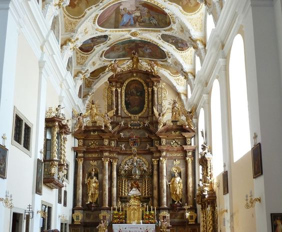 Amazing church in Austria (Frauenkirchen) named by Basilika. Build by my great grand father.