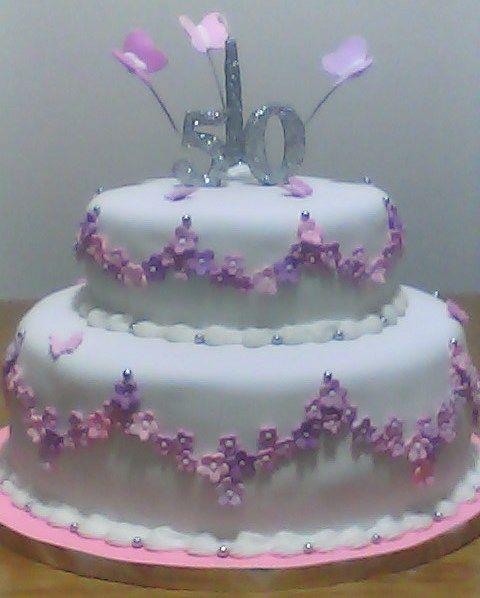 Tortas para cumplea os de mujeres de 50 a os torta - Ideas para cumpleanos de 50 anos ...