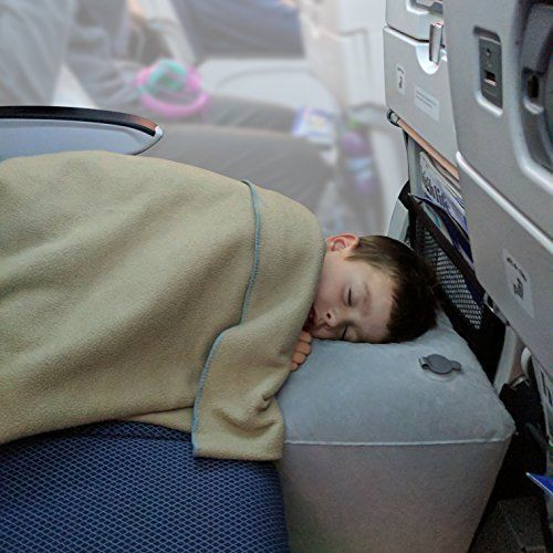 kid toddler inflatable travel pillow