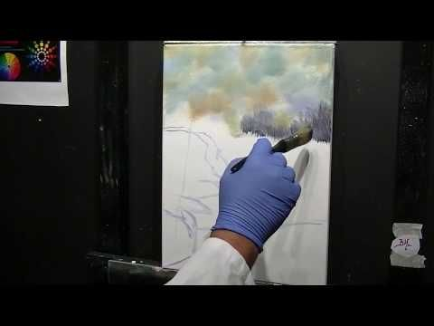 Peinture à l'huile Comment peindre une cascade