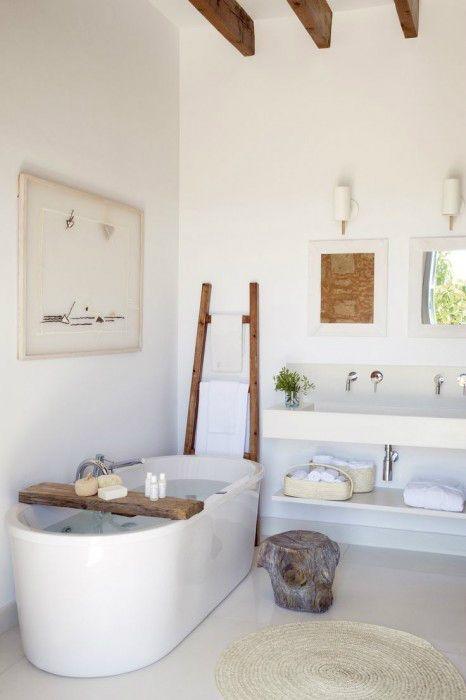 combinar moderno con estilo rustico. una pared de piedra combinaria genial!: