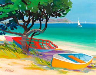 """Shari Erickson - """"Seagrape Bay"""""""