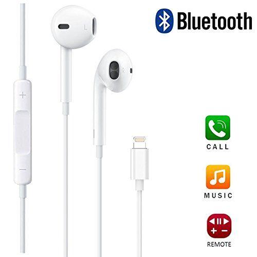 Tronicszone Iphone Headphones Earphones Earbuds Headphones With Mic And Volume Control For Apple Iphone 7 7 Plus 8 Earbuds Iphone Earphones Iphone Headphones