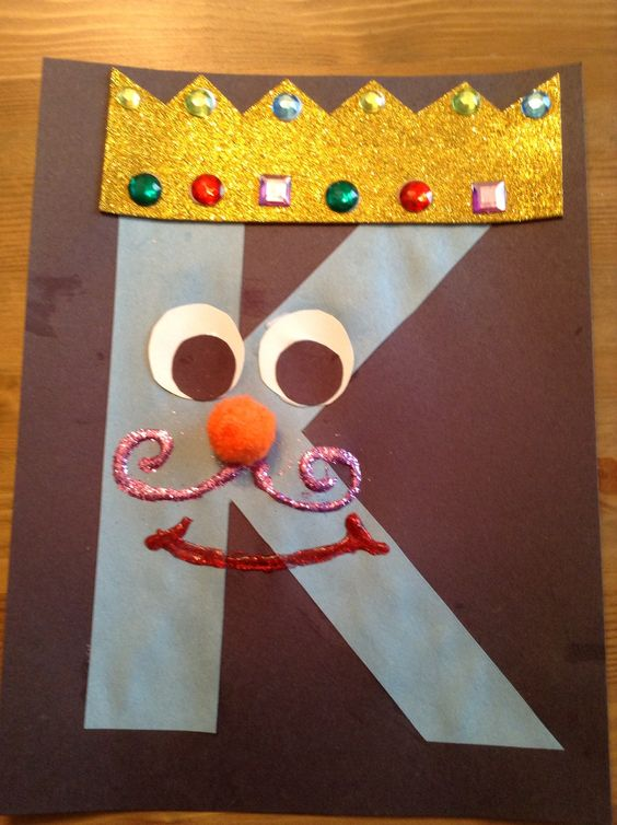 letter k crafts - Google Search | Kindergarten | Pinterest ...
