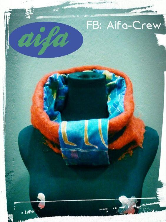 Transforma as camisolas que já não usas em golas para as noites fresquinhas de verão Http://aifacrew.blogspot.com