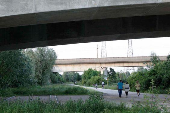 Le Parc du Chemin de l-Ile by Mutabilis-15 « Landscape Architecture Works   Landezine