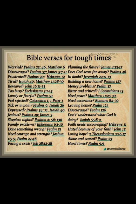 Bible Verses For Hard Times Pictures to Pin on Pinterest ...