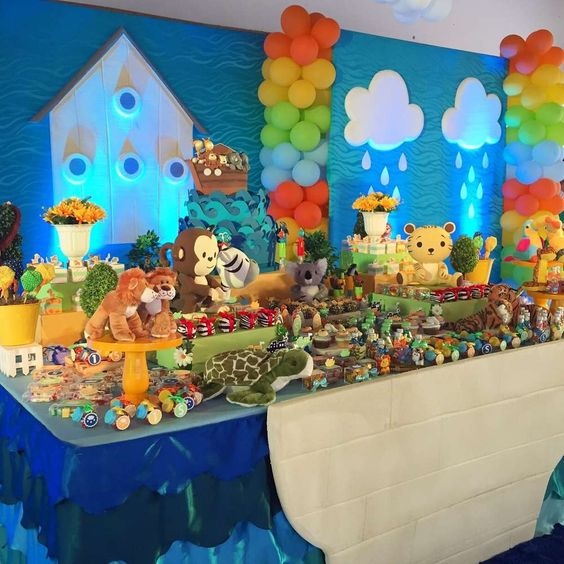 NOAH'S ARK PARTY IDEAS @ SOUTHERN BLUE CELEBRATIONS