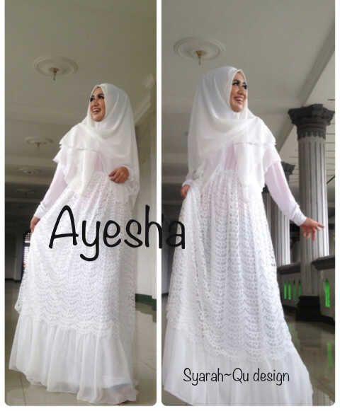 Baju Muslim Wanita Putih Baju Muslim Muslim Wanita