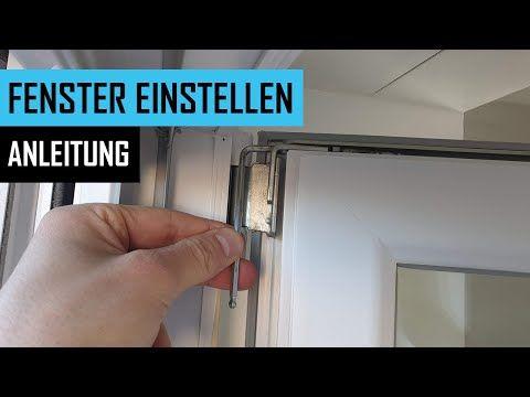 Fenster Einstellen Balkontur Und Fenster Richtig Justieren Inkl Anpressdruck Anleitung Youtube In 2020 Fenster Einstellen Werkstatt Zu Hause Fenster