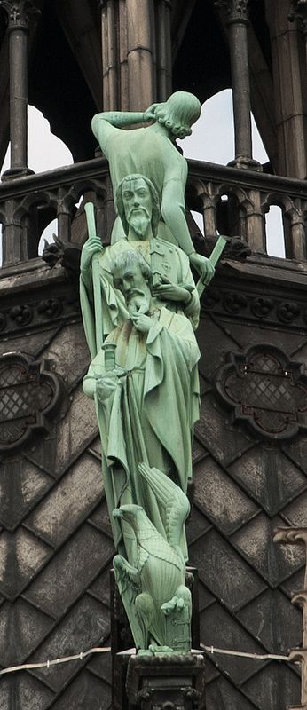 Notre-Dame de Paris detalj