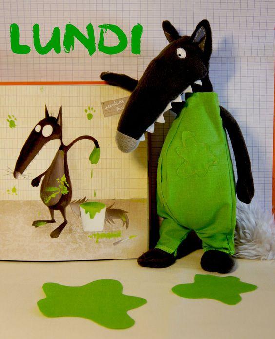 Le loup qui voulait changer de couleur orianne lallemand - La couleur qui va avec le vert ...