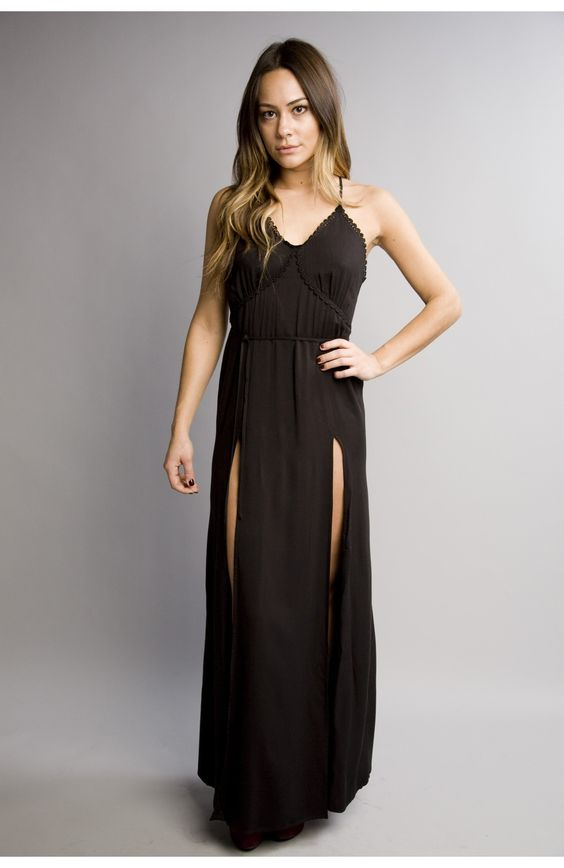 Veranda maxi dress
