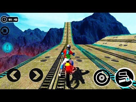 Impossible Motor Bike Tracks 3d Dirt Motor Cycle Racer Game Bike