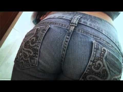 girl fart in jeans