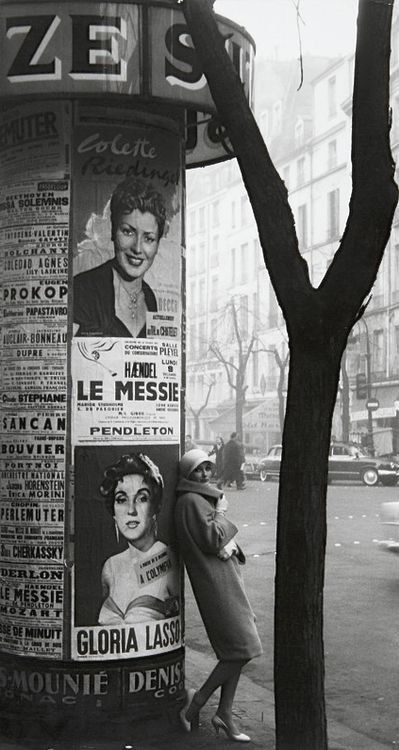 greeneyes55:    Paris ca. 1960  Photo: Frank Horvat